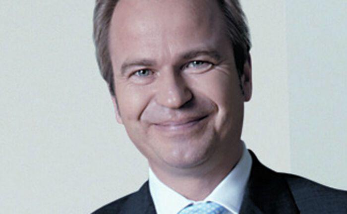 Jens Hagemann ist Vorstandssprecher der V-Bank.|© V-Bank