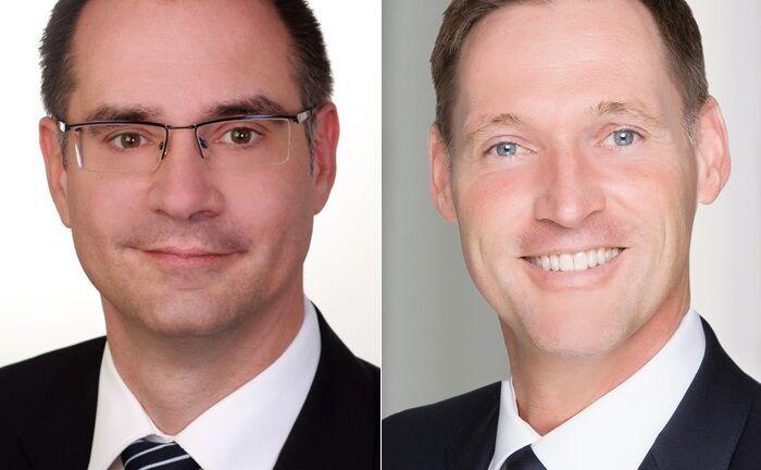 Michael König (l.) und Oliver Lüsch
