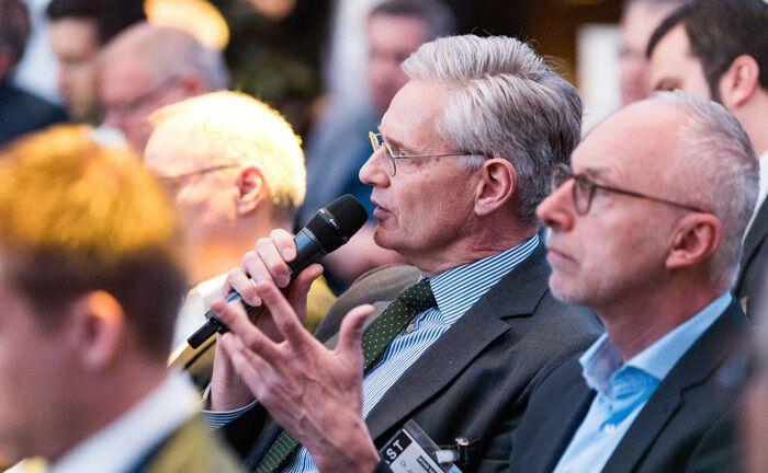 Teilnehmer des 18. private banking kongress in München|© Anna Rauchenberger, Arman Rastegar