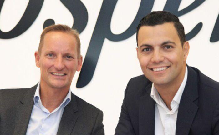 Prospery-Geschäftsführer Dirk-Jan Schuiten (links) und Omar El Khamlichi (rechts). Ende Mai gehen bei Prospery die Lichter aus.|© Prospery