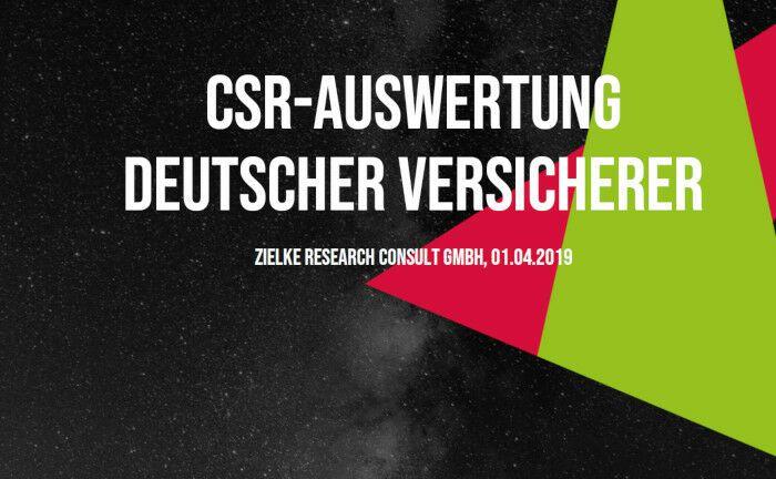 Zielke Research Consult hat alle 42 CSR-Gruppenberichte deutscher Versicherer verglichen und auf ihren Informationsgehalt überprüft. |© Screenshot