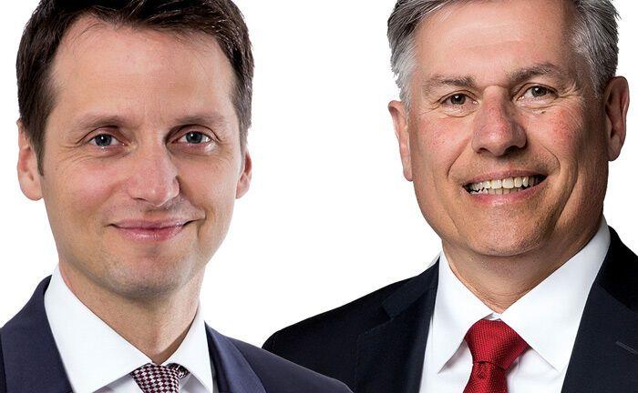 Mathias Beißwenger (l.) und Gerhard Baumeister|© Nowinta Finanzgruppe