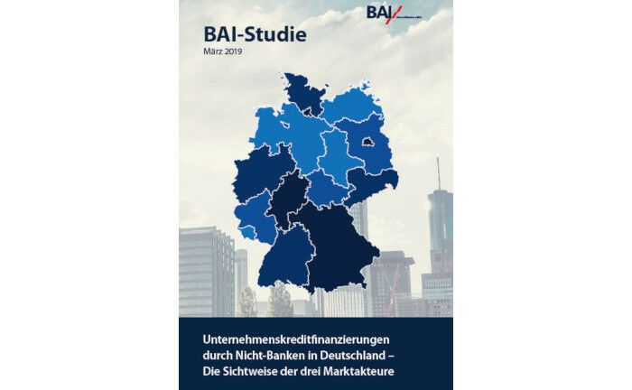 """Der Bundesverband Alternative Investments (BAI) hat in dieser Woche die 112 Seiten starke Studie """"Unternehmenskreditfinanzierungen durch Nicht-Banken in Deutschland"""" vorgestellt."""