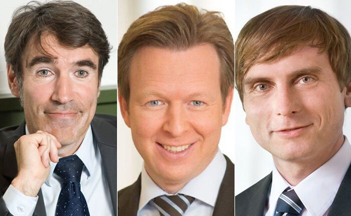 "Die Top-Platzierten im MMD-Ranking (v.l.n.r.): Andreas Meißner (""Defensiv""), Bastian Bosse (""Ausgewogen"") und Mathias Weil (Kategorie ""Offensiv & Flexibel"") 