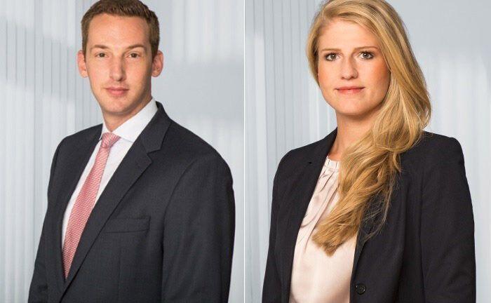 Timo Schwietering (l.) und Carolin Schulze Palstring. |© Metzler Private Banking