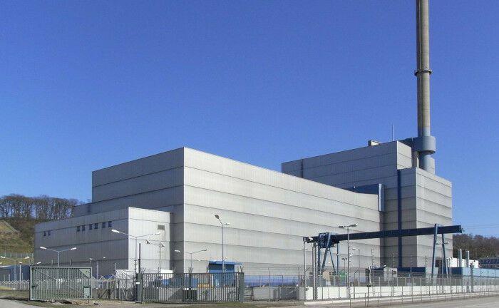 Muss in Einzelteilen entsorgt werden: Das 2011 stillgelegte Kernkraftwerk Krümmel liegt südöstlich von Hamburg an der Elbe, am Geesthachter Ortsteil Krümmel.