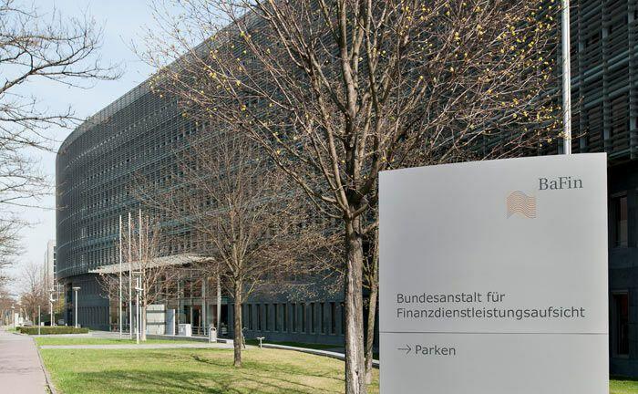 Sitz der Finanzaufsicht Bafin in Frankfurt am Main.