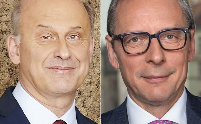 Harald Thury (l.) und Wilhelm Celeda|© Kathrein Privatbank