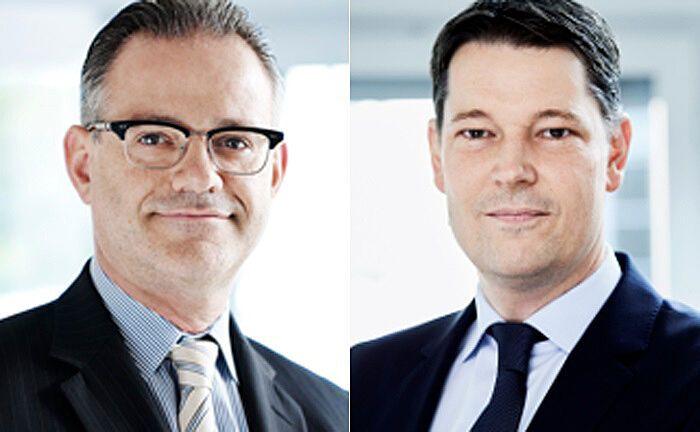 Daniel Ceravolo (l.) und Michael Bögli|© Reuss Private