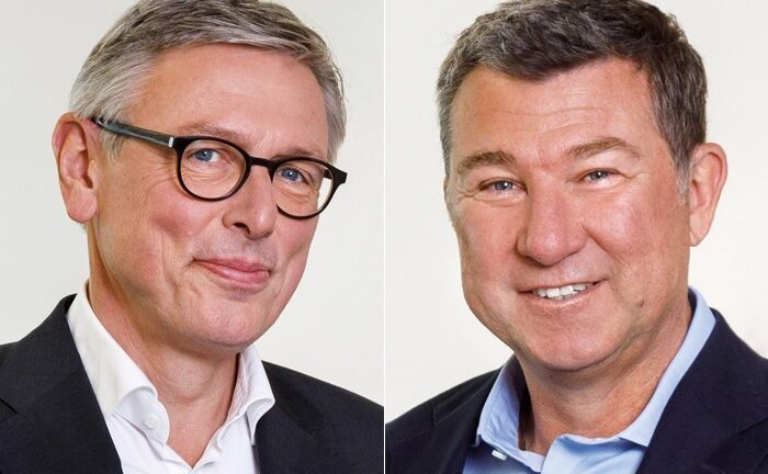 Stephan Rupprecht (l.), seit Jahresanfang dritter Geschäftsführer bei Novethos, und Bernd Glönkler, der 2008 als geschäftsführender Gesellschafter eingesteigen ist. |© Robert Pupeter