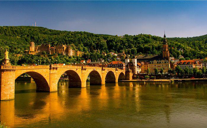 Heidelbergs Alte Brücke über den Neckar: Die hiesige Volksbank sucht derzeit einen Leiter Private Banking.