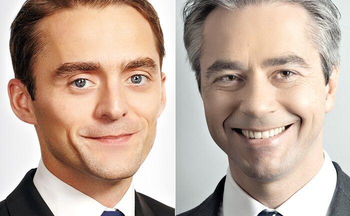 Thomas Weinmann (r.) und Peter Bujotzek