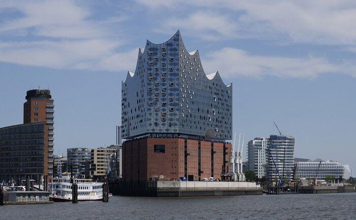 Neues Wahrzeichen Hamburgs: die Elbphilarmonie