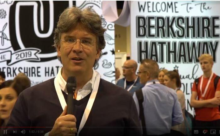 Frank Fischer auf der Hauptversammlung von Berkshire Hathaway im US-amerikanischen Omaha. |© Shareholder Value Management