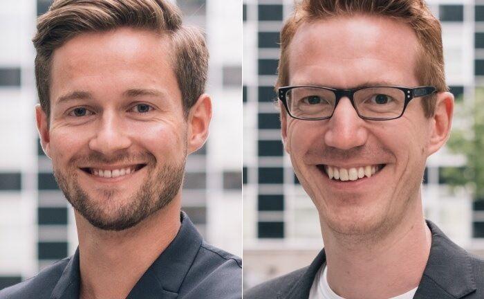 Die beiden Finoa-Gründer Henrik Gebbing (l.) und Christopher May|© Finoa