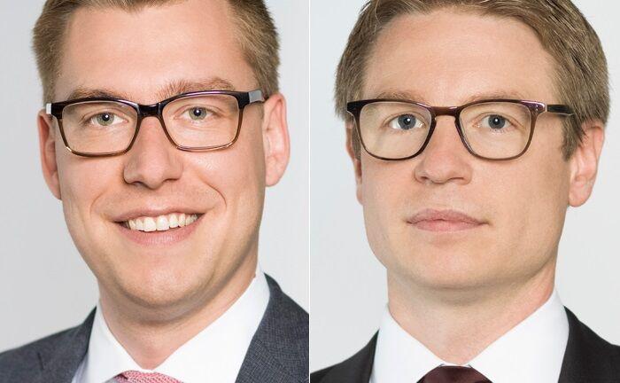 Jeffrey Dissmann (l.) und Tobias Ripka|© Mercer Deutschland