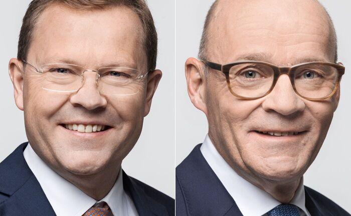 Jürg Zeltner (l.) und Jakob Stott|© KBL epb