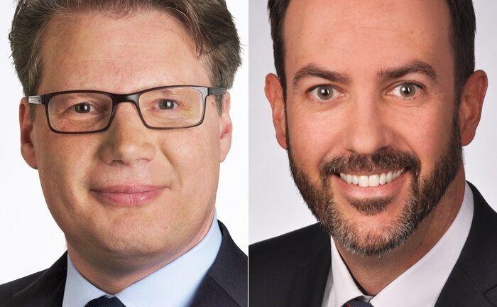 Jürgen Hermanns (l.) und Oliver Christ|© Merck Finck Privatbankiers