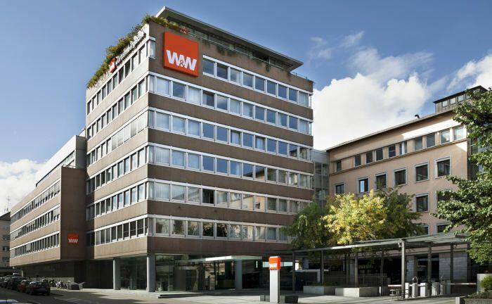 Bürohaus der Wüstenrot & Württembergischen am Standort Stuttgart