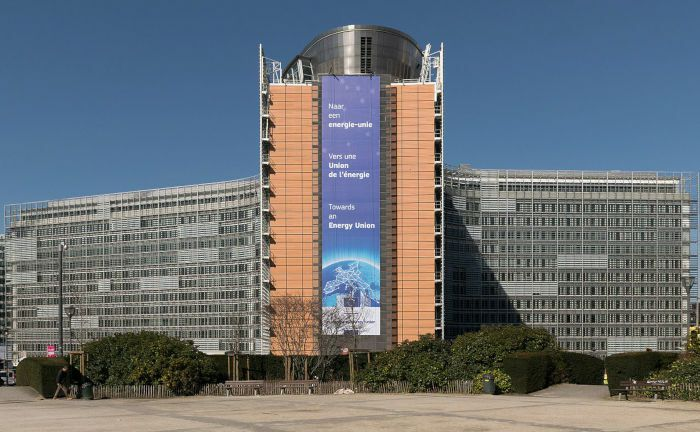 Das Berlaymont-Gebäude in Brüssel ist der Sitz des Generalsekretariats der Europäischen Kommission. | © Wikimedia