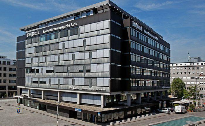Hauptsitz der Baden-Württembergischen Bank: Das Stuttgarter Intsitut verteidigt 2019 Platz 1 der Ewigen Bestenliste des Fuchs-Report. |© Baden-Württembergische Bank