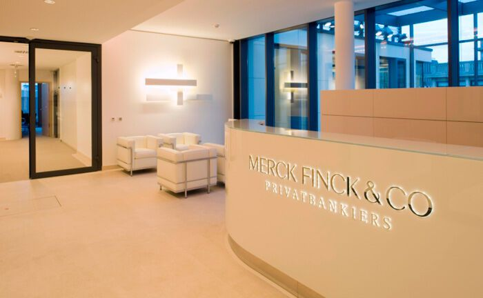 Beratungsräume von Merck Finck: In Hamburg und Berlin hat die Privatbank je zwei Kundenberater mit Warburg-Vergangenheit eingestellt.
