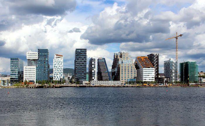 Hoch im Norden bei den Fjorden: Die norwegische Hauptstadt Oslo erreicht in der Vontobel-Liste für aussichtsreiche Standorte den ersten Platz