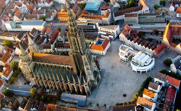 Blick auf das gotische Münster, Wahrzeichen der Stadt Ulm: In der Donaustadt hat der Vermögensverwalter Capitell jetzt seinen sechsten Standort eröffnet.|© Pixabay
