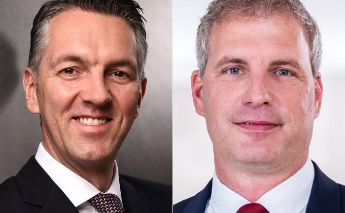 André Spiewak (links) und Dirk Simon. |© UBS