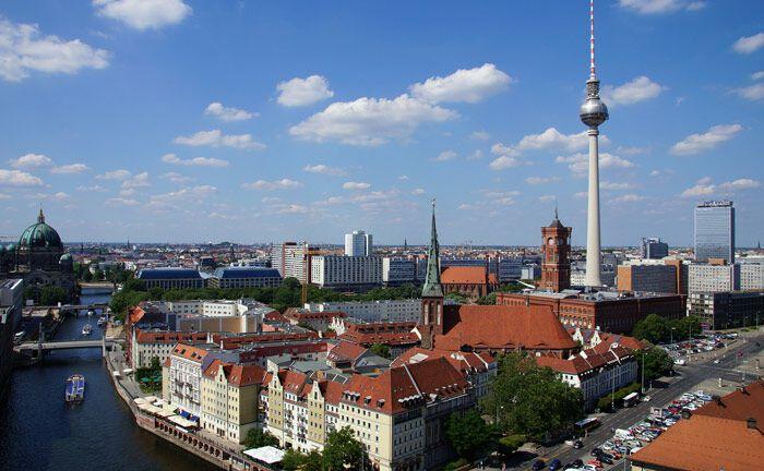 Skyline Berlin: Die Hauptstadt als Teil des deutschen Immobilienmarkts ist laut Vilico derzeit der dynamischste in Europa mit einem großen Nachfrageüberhang.