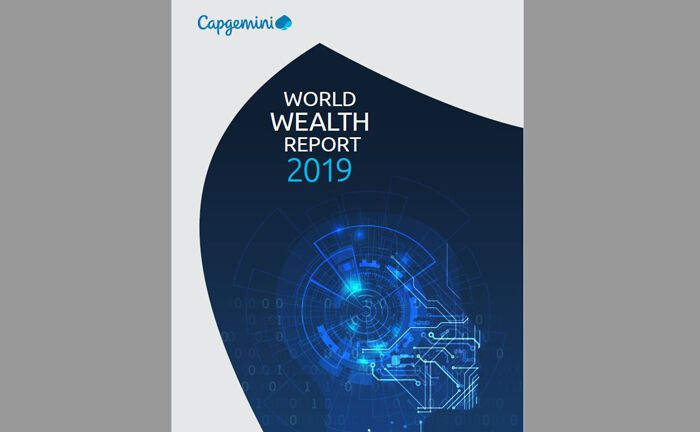 Screenshot vom Deckblatt des aktuellen World Wealth Reports der Beratungsfirma Capgemini|© Capgemini
