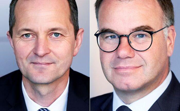 Alexander Hammer (l.) und Tobias Ritter
