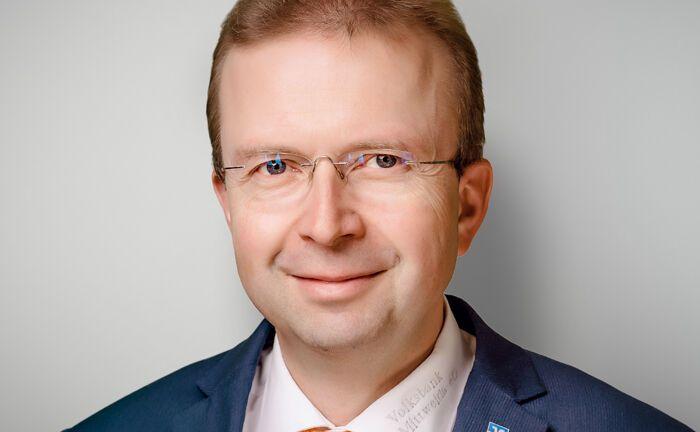 """Thomas Otto: """"Die Aktivitäten des Blockchain-Bundesverbands kommen auch der Region Mittweida zugute."""""""