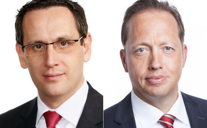 Die Rechtsanwälte Ronald Buge (li.) und Uwe Bärenz erläutern das aktuelle Urteil des Bundesfinanzhofs. |© P+P Pöllath + Partners