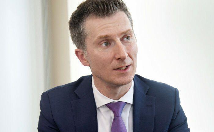 Sascha Pinger ist Geschäftsführer für Immobilien und Infrastruktur beim Versorgungswerk WPV. |© Heiko Laschitzki
