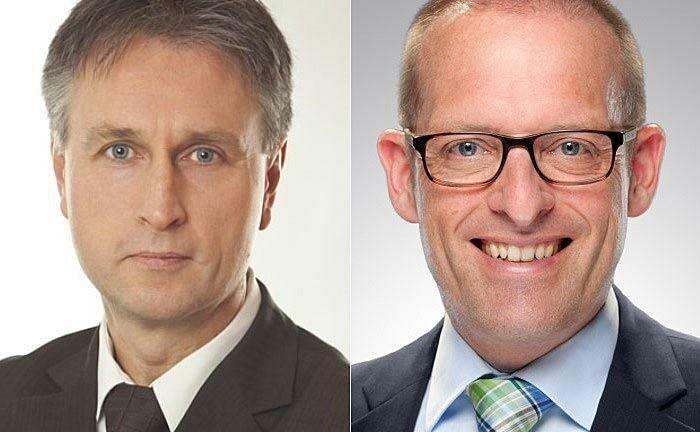 Haben das Fuchs-Performanceprojekt ins Leben gerufen: Dr. Jörg Richter (l.) von der Dr. Richter Unternehmensgruppe und Ralf Vielhaber, Geschäftsführer des Verlags Fuchsbriefe
