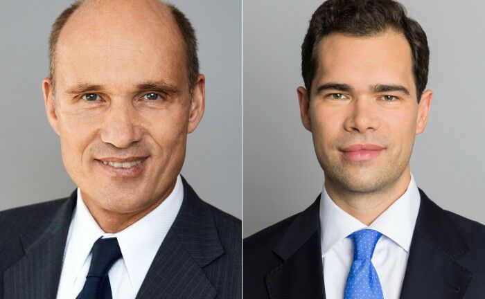 Michael Mewes (li.) und Julian Müller sollen dem Vertrieb an institutionelle Kunden auf die Sprünge helfen.|© DJE