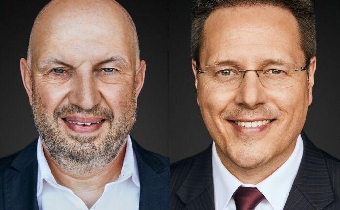 Michael Heim (links) und Volker Wiese.
