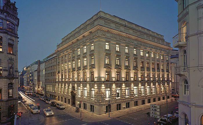 Zentrale der Hamburger Privatbank M.M. Warburg & Co.