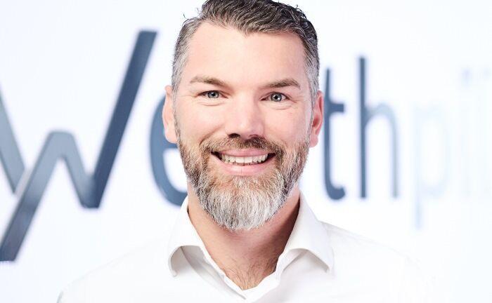 """Wealthpilot-Chef Marco Richter: """"Echte Digitalisierung macht Spaß""""."""