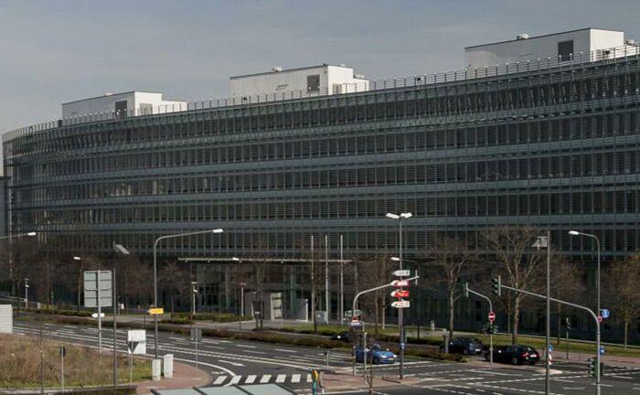 Bafin-Gebäude in Frankfurt. Die Finanzaufsichtsbehörde beaufsichtigt ab 2020 auch Verwahrstellen für Kryptowerte.