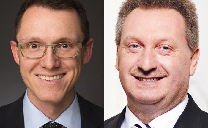 Managen den FU Fonds Bonds Monthly Income: Norbert Schmidt und Gerhard Mayer von der Heemann Vermögensverwaltung. |© Heemann VV