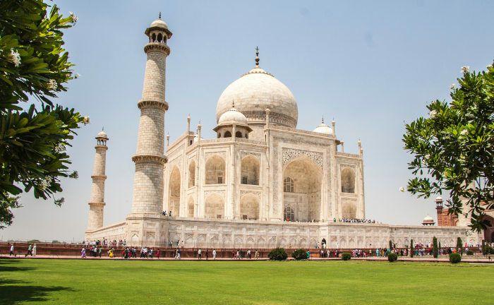 Der Taj Mahal gilt als das schönste Bauwerk muslimischer Architektur in Indien.