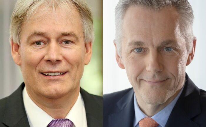 Axel Bartsch (l.) und Wolfgang Klein.