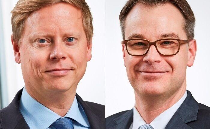 Dennis Kaiser (l.) und Oliver Hollender leiten das Private Equity Team bei Flossbach von Storch. |© FvS
