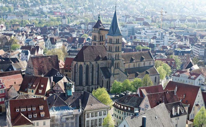 Blick auf die Esslinger Altstadt und die Stadtkirche St. Dionys.  | © Holger Adams, Wikimedia, Creative Commons Attribution 4.0 International license.