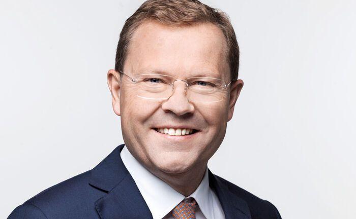 """KBL-epb-Chef Jürg Zeltner:  """"Die Bank am Bellevue passt optimal zu uns""""."""