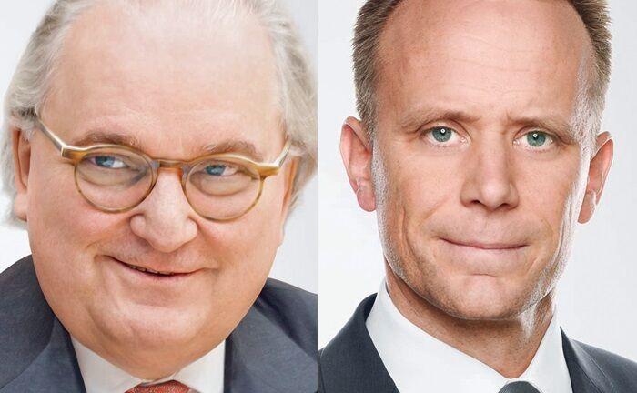 Constantin von Oesterreich (l.) und Jochen Sautter bilden zusammen mit Sebastian Firlinger ab September 2019 das neue Führungsgremium der Südwestbank.