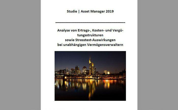 Startseite der jüngsten Studie von App Audit. Die Wirtschaftprüfgesellschaft sieht sich einmal pro Jahr die Geschäftszahlen deutscher Vermögensverwalter an.