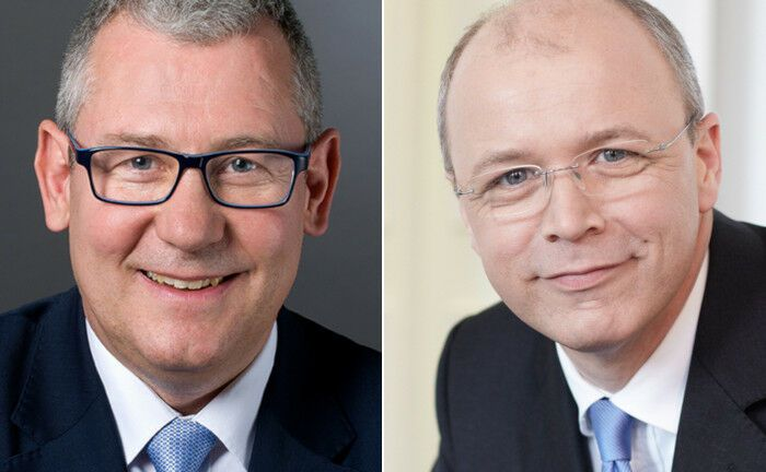 Uwe Rieken (li.) und Thomas Racky sind Geschäftsführer der als Gemeinschaftsunternehmen von Hosak Racky & Partner und Faros Consulting gegründeten Strategic Family Office Advisors.  | © Strategic Family Office Advisors